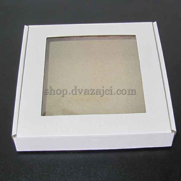 коробка картонная с окном