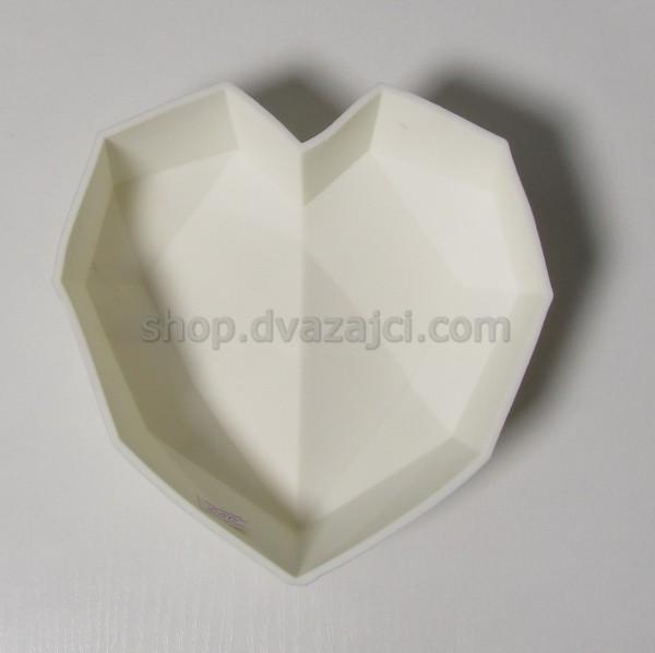 форма силиконовая сердце
