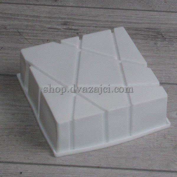 форма силиконовая для мусового десерта геометрия