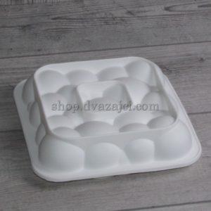 форма силиконовая для мусового десерта облако