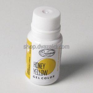 Краситель гелевый Criamo 10г медовый желтый