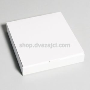 Коробка для конфет (на 9 штук) 153х153х30 белая