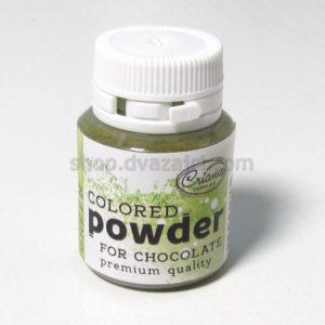 Краситель для шоколада зеленый