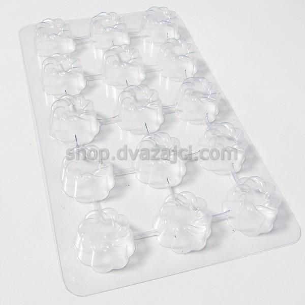 Пластиковая форма для конфет 15 шт