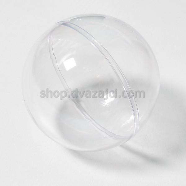 Пластиковая форма Шар 3Д 8 см
