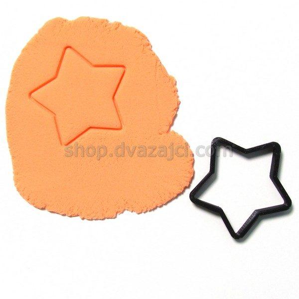 Форма для печенья Звезда #1 8см