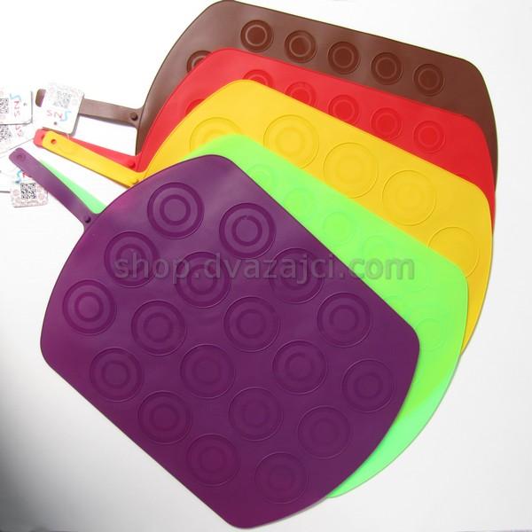 Коврик силиконовый для макарон двусторонний