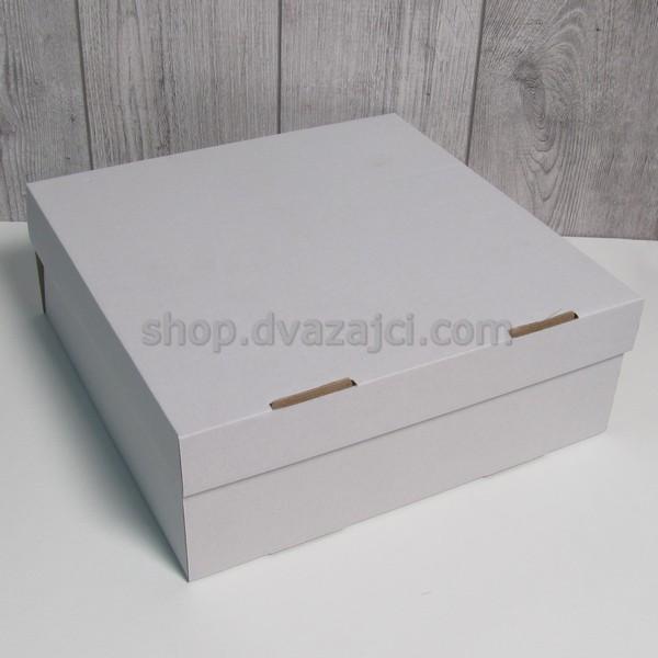 Коробка для пляцок 300х300х110