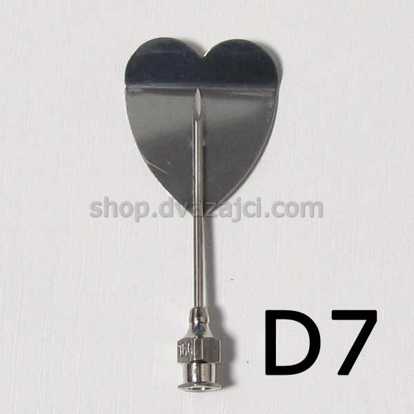 Насадка для желе #D7