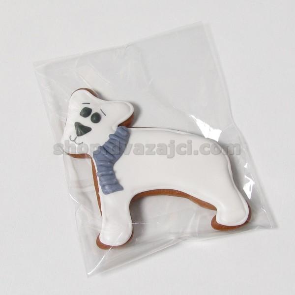 Пряник Новогодний Белый мишка