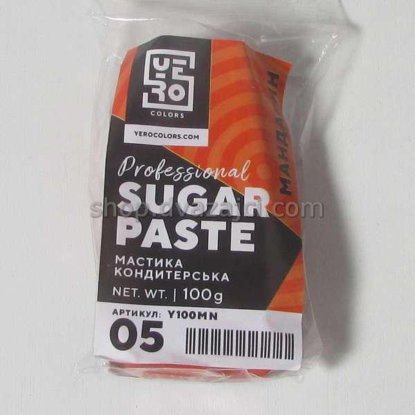 Мастика (мандарин) 100г