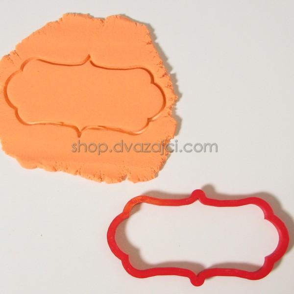 Форма для печенья Рамка 12х6,5 см