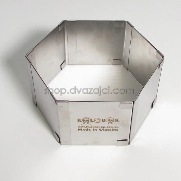 Раздвижная форма для выпечки Шестиугольник h = 85 мм