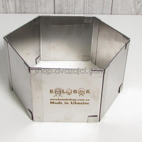 Раздвижная форма для выпечки Шестиугольник h = 100 мм