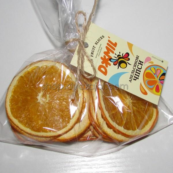 Чипсы фруктовые Апельсин 40г