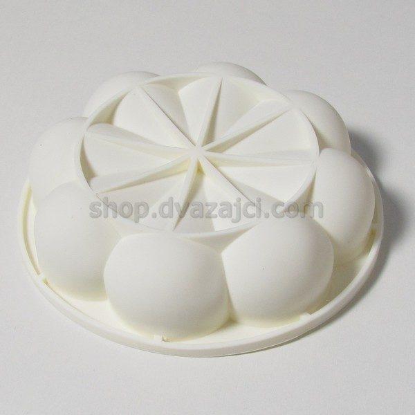Форма силиконовая для муссового десерта Дольки