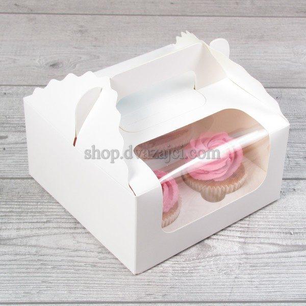 коробка на 4 шт с окном