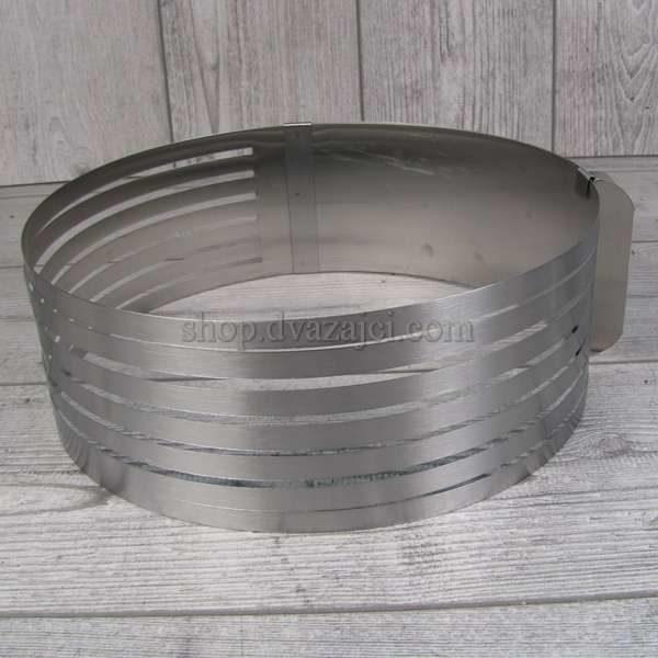 Раздвижная форма для выпекания и разрезания коржей