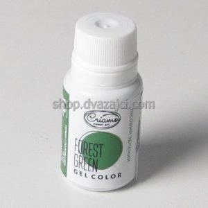 Краситель гелевый Criamo 10г лесной зеленый