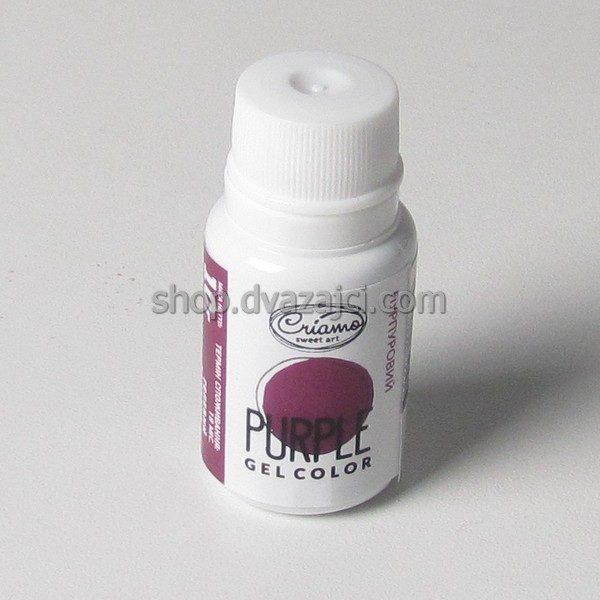 Краситель гелевый Criamo 10г пурпурный