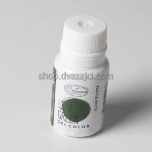 Краситель гелевый Criamo 10г зеленые листья
