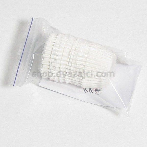 Бумажный стаканчик 30х24 белый 25 штук
