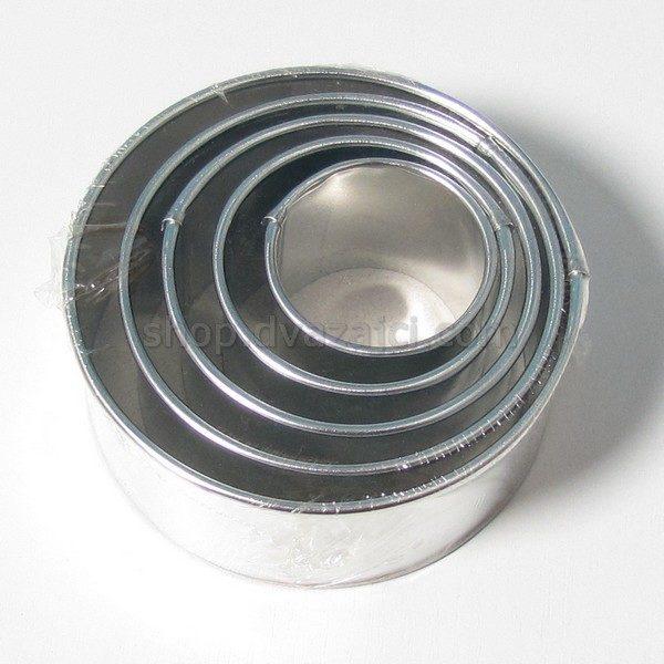 Форма для выпекания круглая набор 5 шт