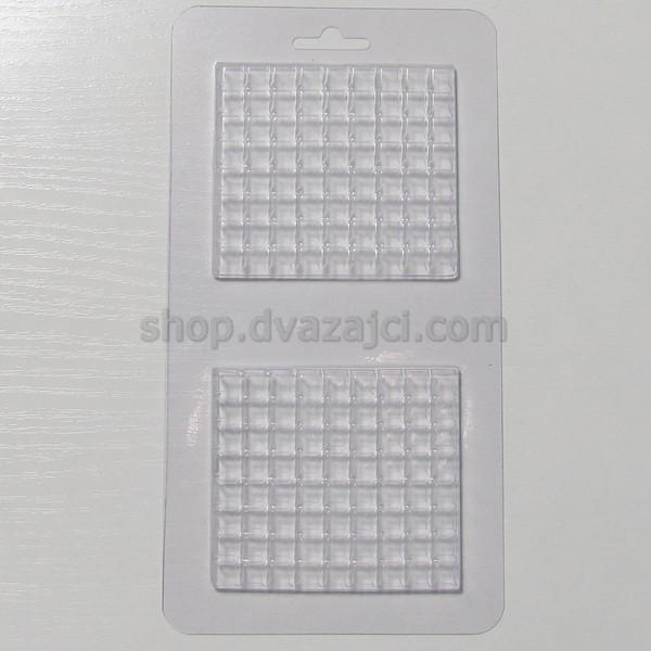 Форма пластиковая Шоколадная клетка 2 шт