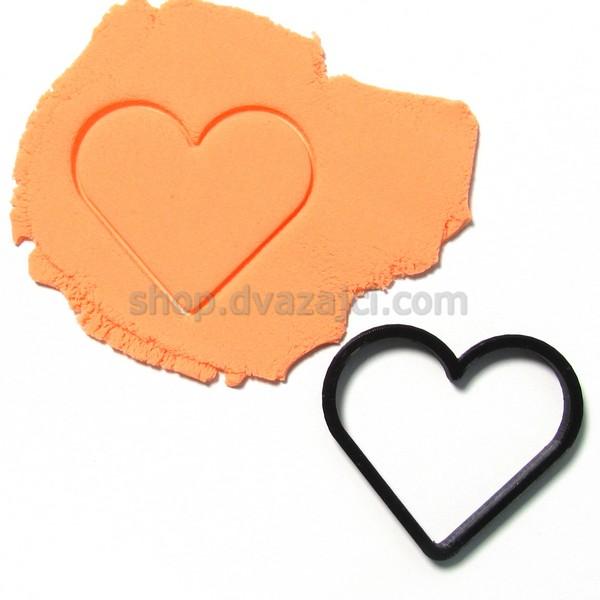 Форма для печенья Сердце #1 8см