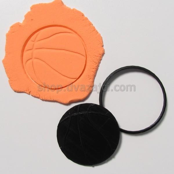 Форма для печенья Баскетбольный мяч 9см
