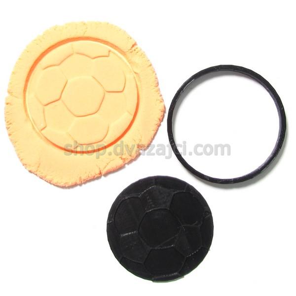Форма для печенья Футбольный мяч 9см