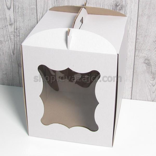 тортовая упаковка с окном