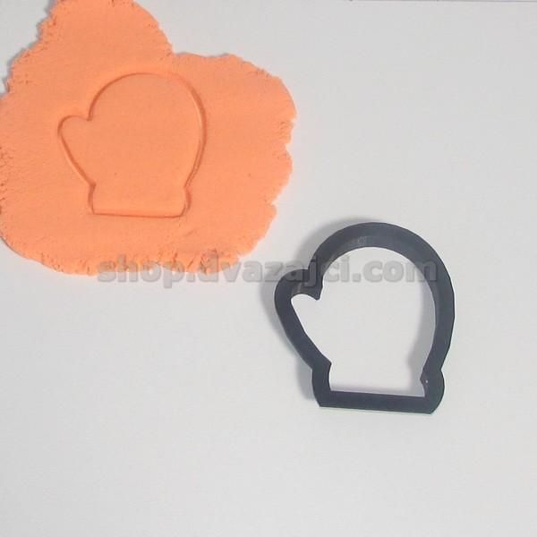 Форма для печенья Варежка 8см