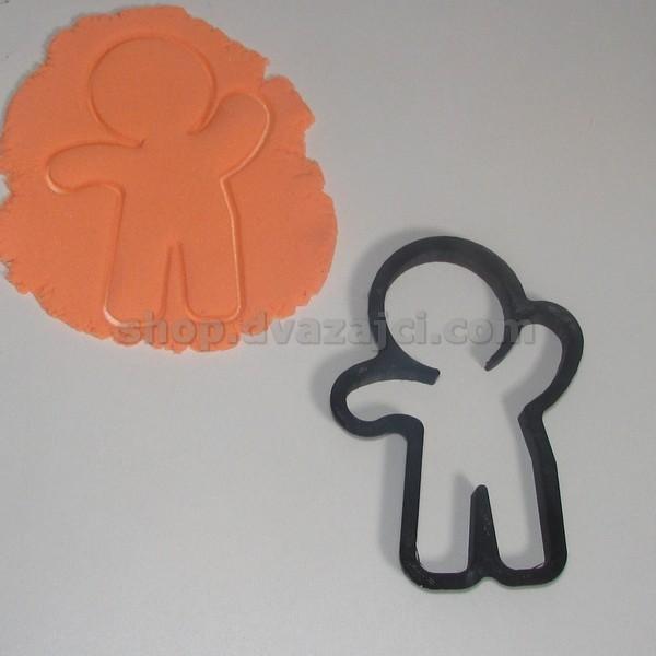 Форма для печенья Человечек 12см