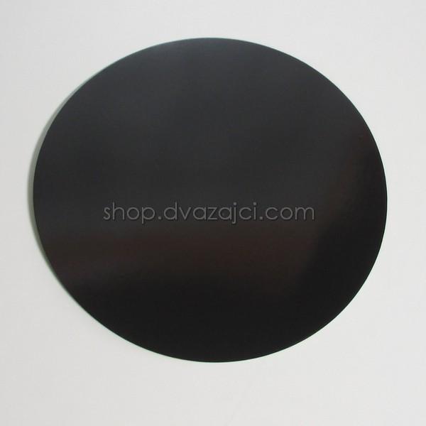 Подложка для торта 300 мм. черная